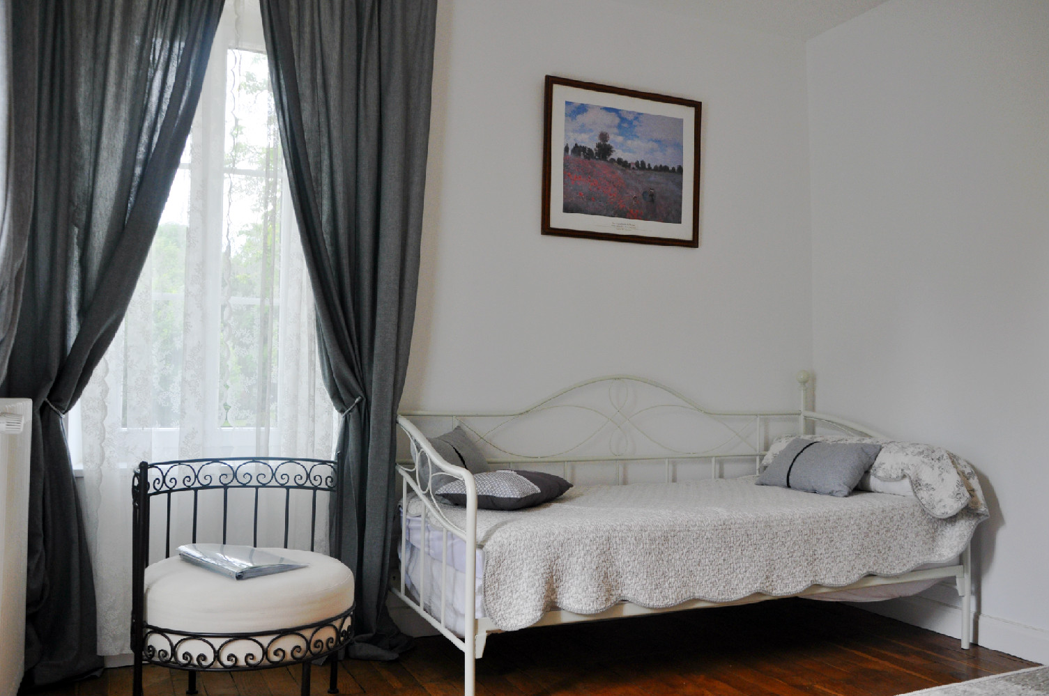 Chambre tons gris proche Beauval